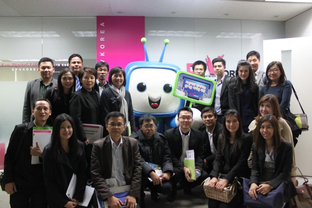 [첨부] 태국 정부 관계자 DTV KOREA 방문 사진